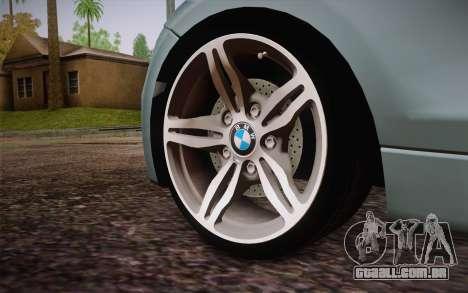 BMW 135i Limited Edition para GTA San Andreas traseira esquerda vista