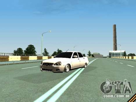 VAZ 2110-2170 para GTA San Andreas vista traseira