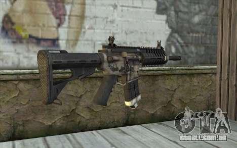 P416 из FarCry para GTA San Andreas segunda tela