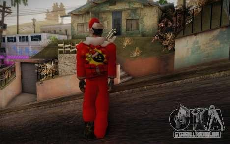 Santa Sam para GTA San Andreas segunda tela
