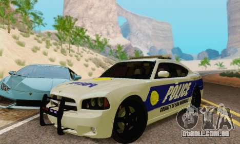 Pursuit Edition Police Dodge Charger SRT8 para GTA San Andreas