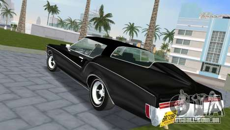 Buick Riviera 1972 Boattail para GTA Vice City deixou vista