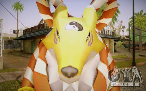 Kyubimon para GTA San Andreas terceira tela