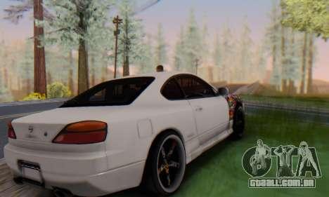 Nissan Silvia S15 Metal Style para GTA San Andreas esquerda vista