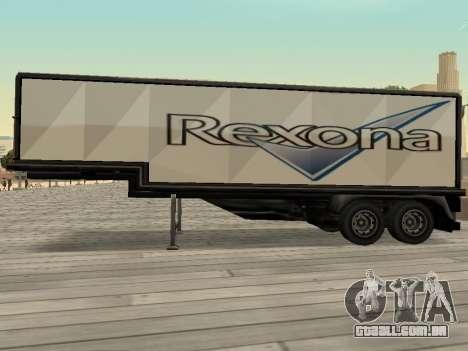 Nova propaganda em carros para GTA San Andreas quinto tela