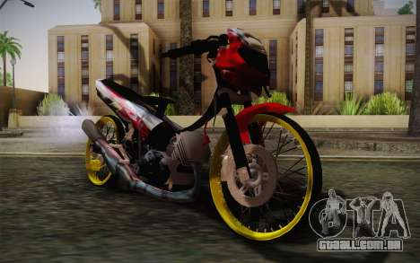 Yamaha Tiara S120 Speed MX drag para GTA San Andreas