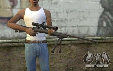 M-24 para GTA San Andreas terceira tela