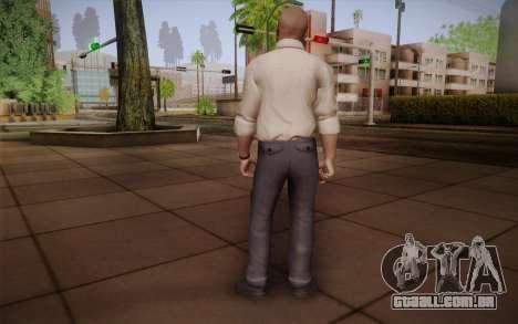 Agente especial de Jason Hudson из CoD: Black Op para GTA San Andreas segunda tela