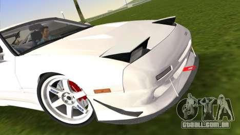 Mazda Savanna RX-7 III (FC3S) para GTA Vice City vista direita