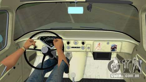 Chevrolet Apache Fleetside 1958 para GTA Vice City vista direita