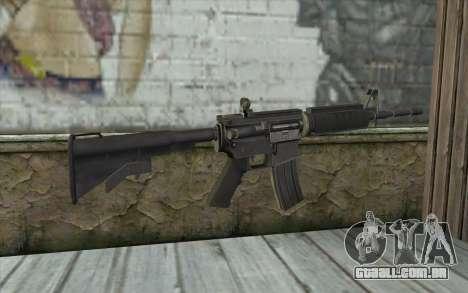 SGW M4 Rifle para GTA San Andreas segunda tela