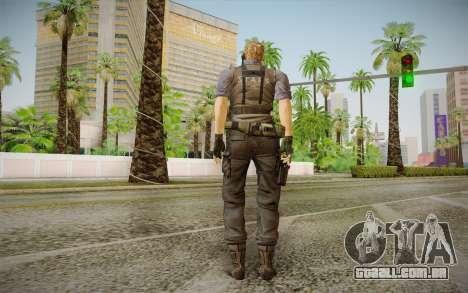Wesker Stars from Resident Evil 5 para GTA San Andreas segunda tela