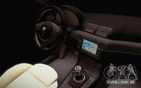 BMW 318 Ci 34 UNL 58 para GTA San Andreas vista direita