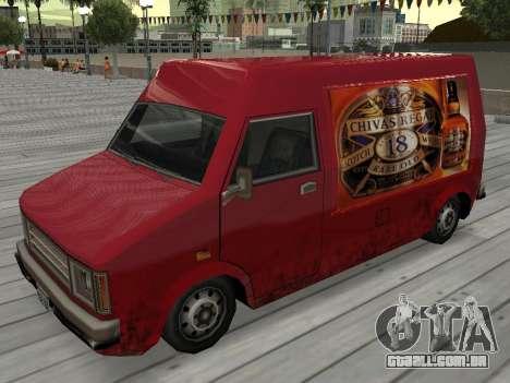 Nova propaganda em carros para GTA San Andreas