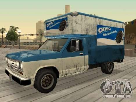 Nova propaganda em carros para GTA San Andreas nono tela