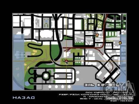 Da selva em uma rua Asteca para GTA San Andreas sexta tela