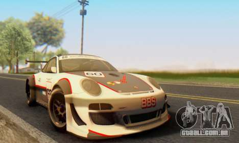 Porsche GT3 R 2009 para GTA San Andreas esquerda vista