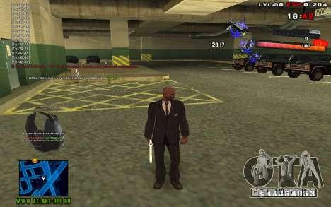 C-HUD by thereobull para GTA San Andreas