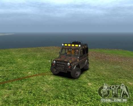 UAZ 31514 Encaminhamento para GTA 4 esquerda vista