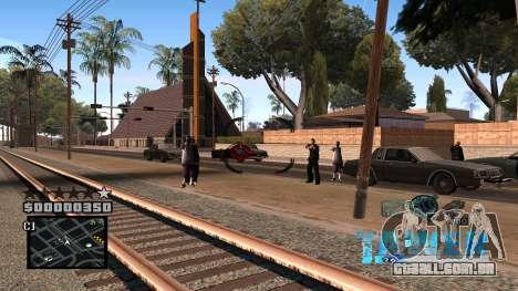 C-HUD Tawer para GTA San Andreas por diante tela