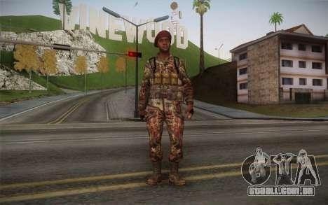 U.S. Soldier v2 para GTA San Andreas