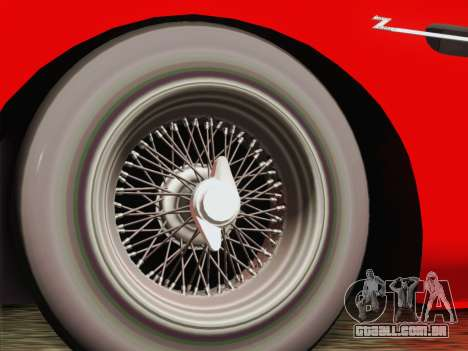 Aston Martin DB4 Zagato 1960 para GTA San Andreas traseira esquerda vista