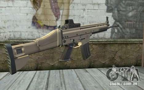 SCAR-L Custom para GTA San Andreas segunda tela