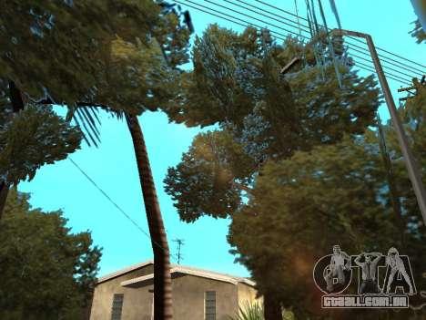 Da selva em uma rua Asteca para GTA San Andreas quinto tela