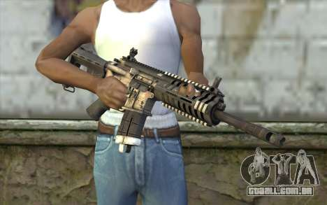 P416 из FarCry para GTA San Andreas terceira tela