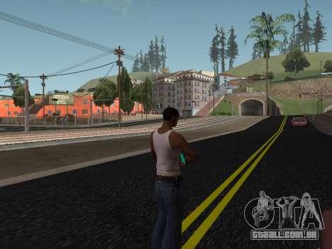 Sniper rifle para GTA San Andreas por diante tela