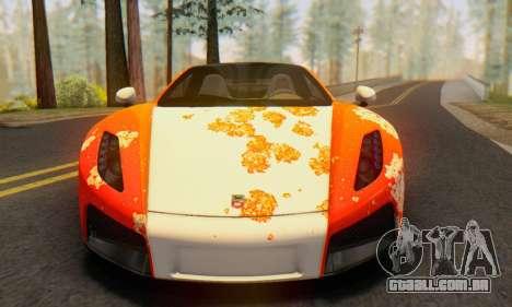 GTA Spano 2014 HQLM para GTA San Andreas esquerda vista
