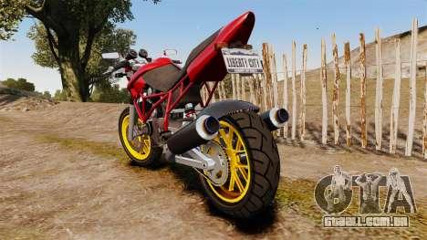 GTA V Principe Nemesis para GTA 4 traseira esquerda vista