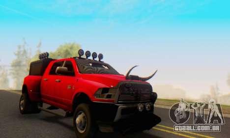 Dodge Ram 3500 Super Reforzada para GTA San Andreas