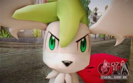 Shaymin Sky from Pokemon para GTA San Andreas terceira tela