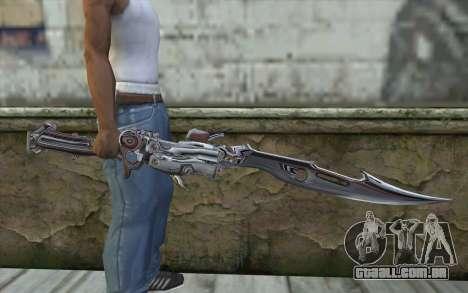 Lightnings Sword from Final Fantasy para GTA San Andreas terceira tela
