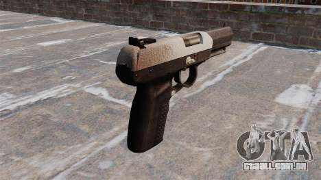 Arma FN Cinco sete Chrome para GTA 4 segundo screenshot