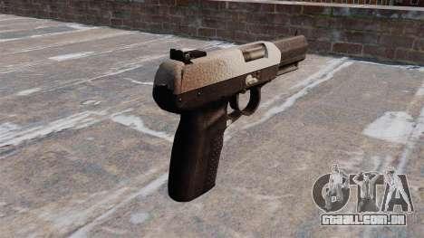 Arma FN Cinco sete Chrome para GTA 4 segundo screenshot