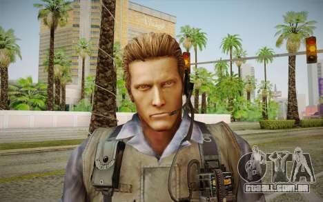 Wesker Stars from Resident Evil 5 para GTA San Andreas terceira tela