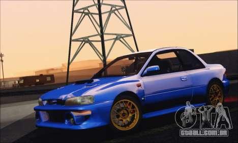 Subaru Impreza 22B STi 1998 para GTA San Andreas vista traseira