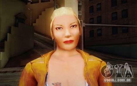 Woman Autoracer from FlatOut v1 para GTA San Andreas terceira tela
