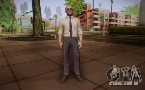Agente especial de Jason Hudson из CoD: Black Op para GTA San Andreas