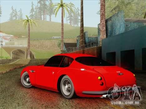Aston Martin DB4 Zagato 1960 para GTA San Andreas esquerda vista