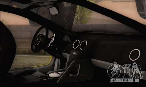 Lamborghini Murcielago 2005 Mesmas Edições HQLM para GTA San Andreas vista direita
