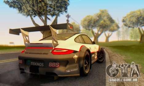 Porsche GT3 R 2009 para GTA San Andreas vista direita