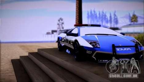 Lamborghini Críticos LP670-4 SuperVeloce, 2010 para GTA San Andreas traseira esquerda vista