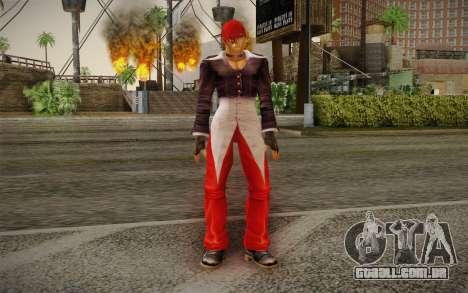 Iori Yagami para GTA San Andreas