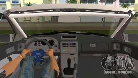 Mazda Savanna RX-7 III (FC3S) para GTA Vice City vista traseira esquerda