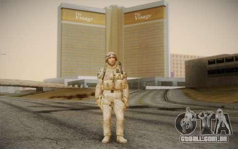 Soldados do Black Ops 2 para GTA San Andreas