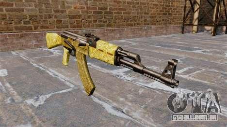 A AK-47 Gold para GTA 4