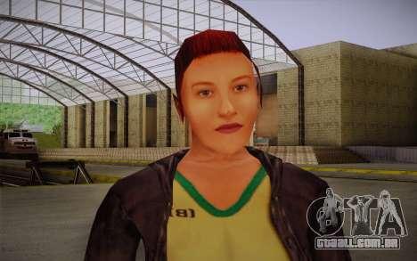 Woman Autoracer from FlatOut v3 para GTA San Andreas terceira tela